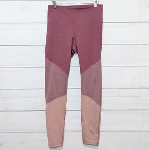 Old Navy Active Pink Colorblock Leggings L